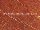 Fire Red Marble
