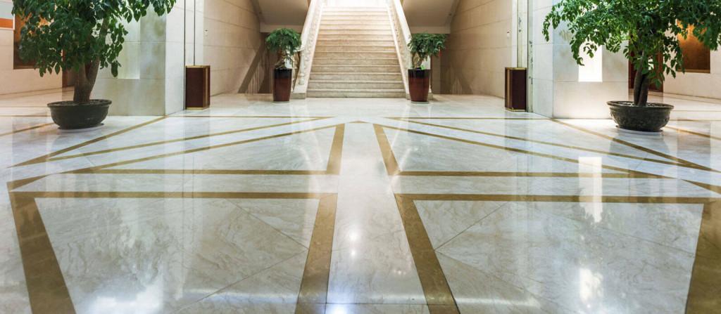 Italian marble floor