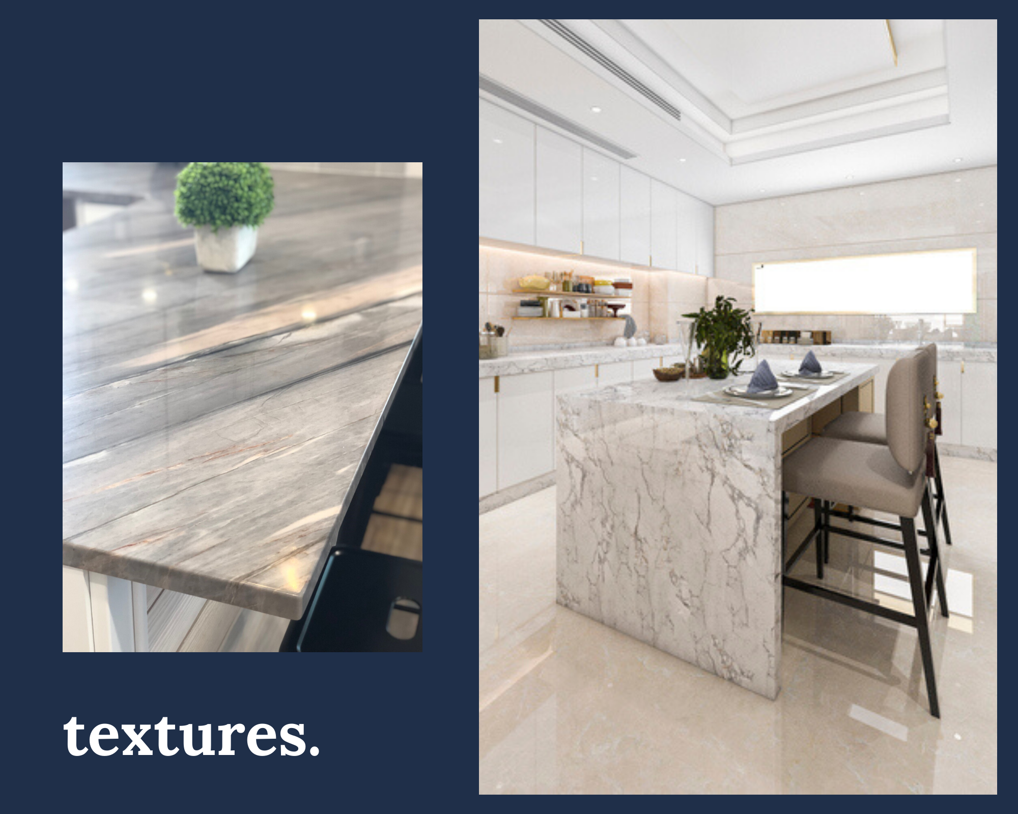 The latest trend in Marble, Granite and Natural stone