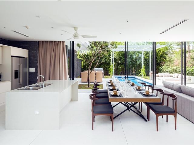 Flawless Vietnam White Marble