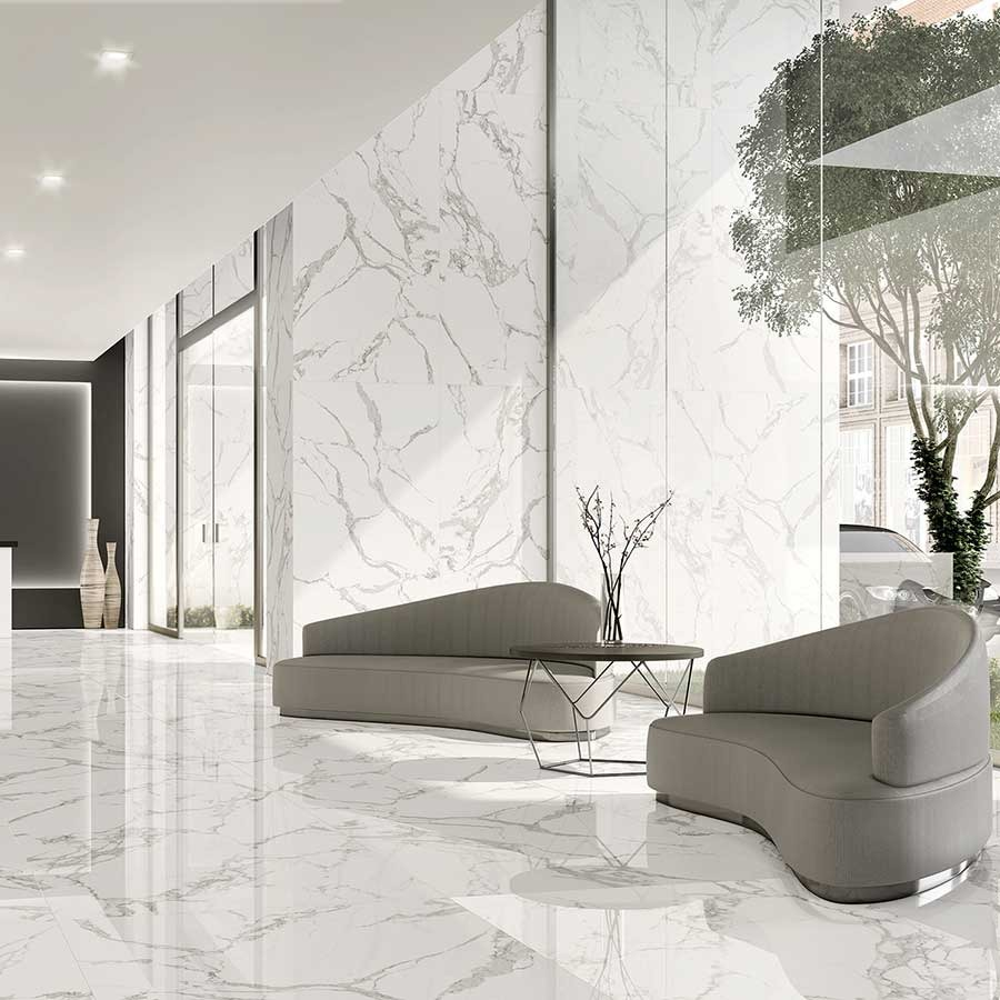 What are the best Italian marble flooring designs, colors, and prices in India?