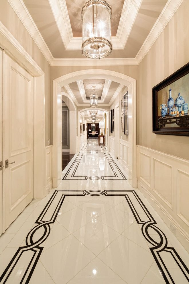 How we can use white marble with colorful marble for Flooring Elevation Decoration and countertop?
