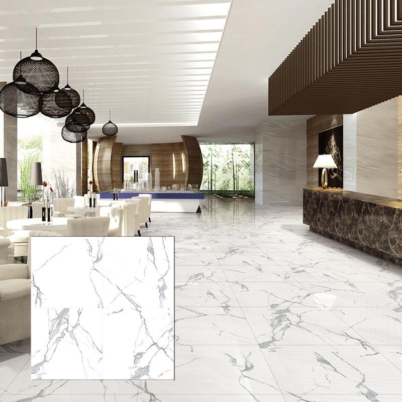Statuario Marble, Carrara Marble, and Calacatta Marble Tiles
