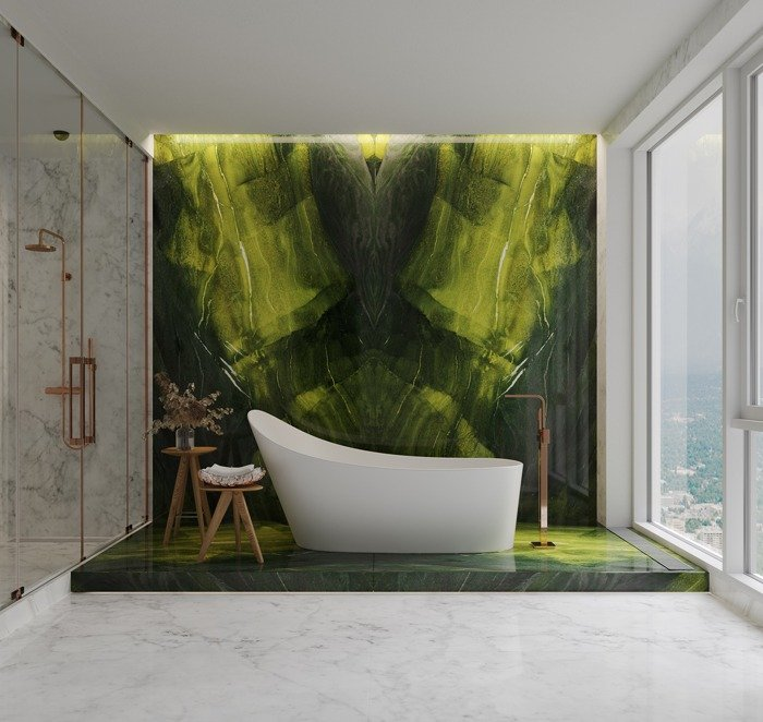 The biggest 2021 trends for luxury marble, granite, and rare onyx   Bhandari  Marble Group