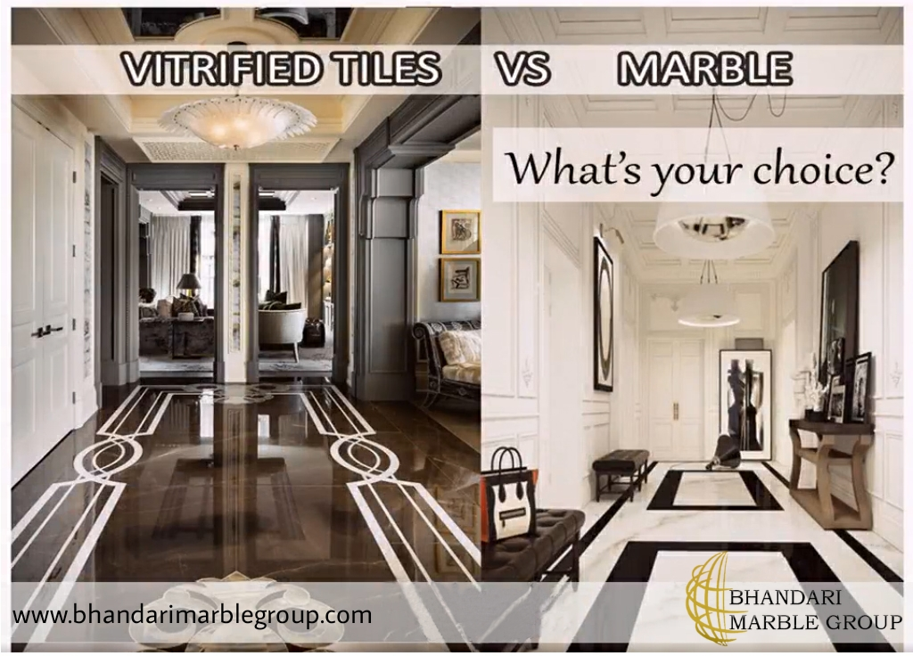 Marble tiles are better than man-made chemical mix tiles