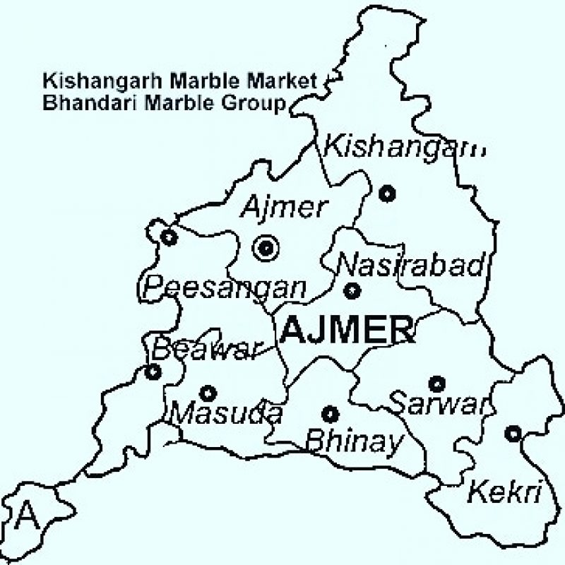 Ajmer Map
